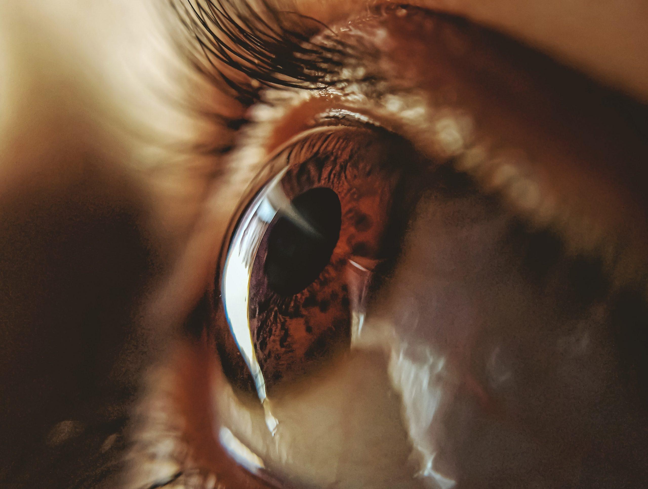 lélek, szem közelről